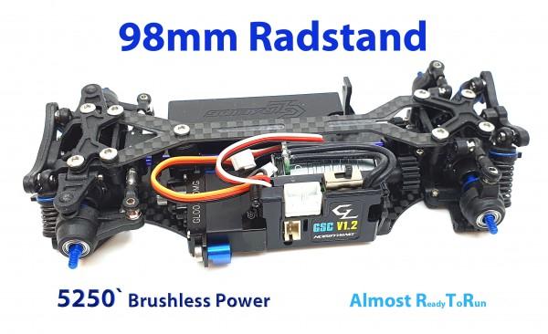 GL-Racing | GLA-V2.1-98MM-RTR-5250 | Chassis | GLA-V2 1/27 4WD Chassis[98MM]
