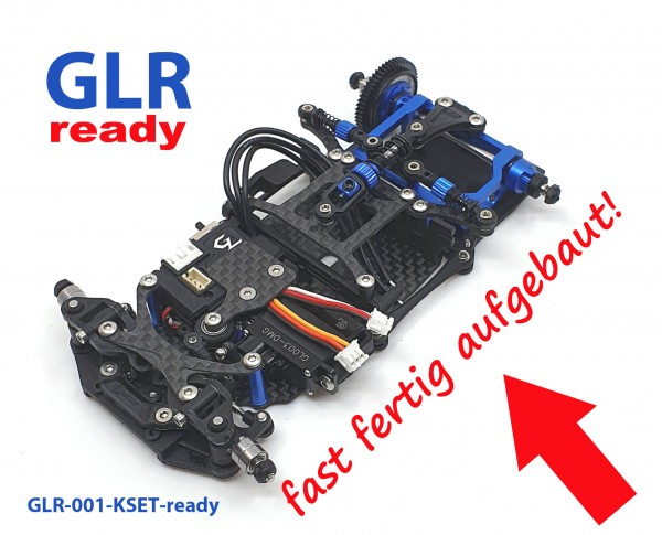 GL-Racing | GLR-001-KSET ready | Chassis | GLR 1/27 RWD Chassis - W/O RX