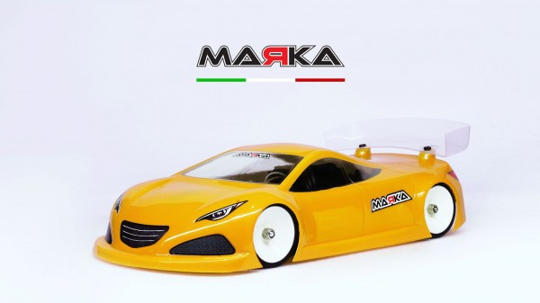 Marka Racing Mini-Z RK-HC Racing Lexan Body Kit (98MM W/B) | #MRK-8024