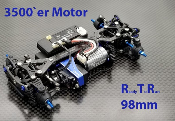 GL-Racing | GLA-V2-98MM-RTR-3500 | Chassis | GLA-V2 1/27 4WD Chassis[98MM]