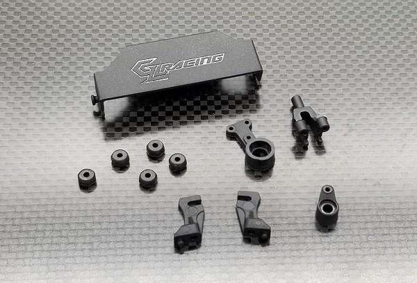GL-Racing | GLA-V2-S005 | GLA S.Crank w/ body mount set [ GLA-V2 ] | Ersatzteile