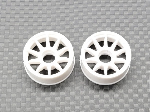 GL-Racing Felgen | WHC008-3 | White RWD Rims wide 3 | Ersatzteile
