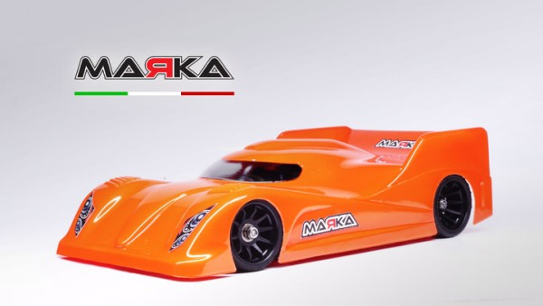 Marka Racing Mini-Z Lexan RK-AMR Pan Car Body | #MRK-8030