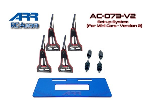 RC-Aurora | AC-073-V2 | Set-up System (For Mini Cars - Version 2) | Ersatzteile | GL-Racing Germany