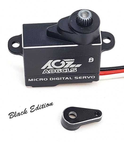 "Servo Titanium Micro A06CLS 6g ""Black Edition"" digital, programmierbar"