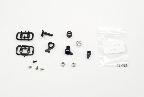 GL-Racing | GLF-OP-017| GLF | GLF Aluminum Servo Saver Set| Tuning