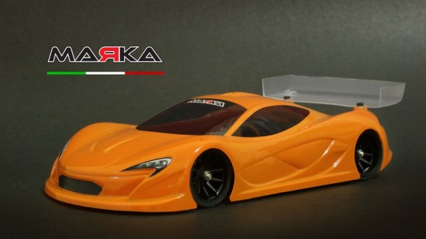 Marka Racing Mini-Z RK-P-One Racing Lexan Body Kit (98mm W/B) - Light Weight