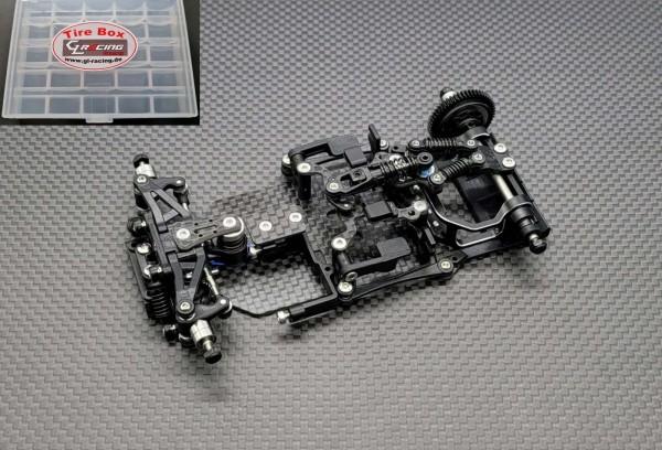 GLR-GT 1/28 RWD Chassis - W/O RX,Servo,ESC