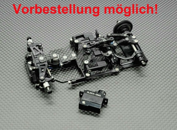 GLR-GT 1/28 RWD Chassis - (W/O RX,ESC)