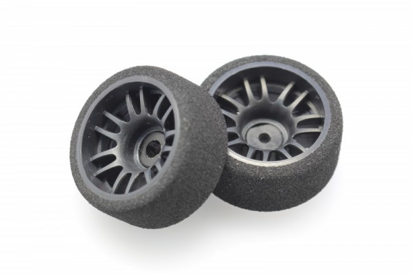 GLR / RWD SOFT FOAM TIRE MOUNTED W/ FIBER-REINFORCED PLASTIC WHEEL rear 11 mm