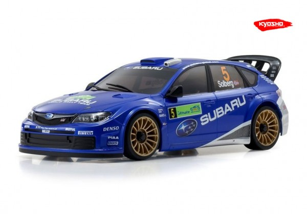 Karosserie Autoscale SUBARU IMPREZA WRC2008 No.5 94mm