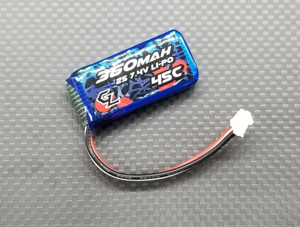 Lipo Pack / 7.4V / 2S / GL Racing / 360mAh / 45C Discharge