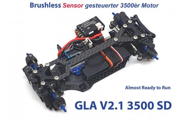 GL-Racing | GLA-V2.1-98MM-RTR-3500 | Chassis | GLA-V2 1/27 4WD Chassis[98MM]