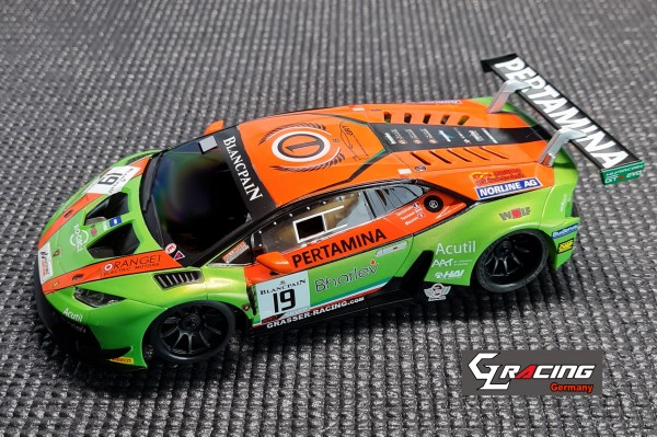 GL-Racing | GL-LB0-GT3-001| Lamborghini GT3 green orange