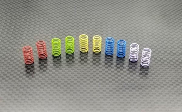 GL-Racing | GLA-004-L | GLA Spring set (Long/R) | Ersatzteile
