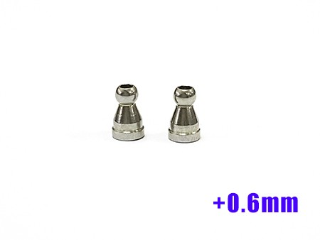 GL-Racing | GLA-S010-P| Steering Ball Joints 2.5mm (H +0.6mm) | Ersatzteile