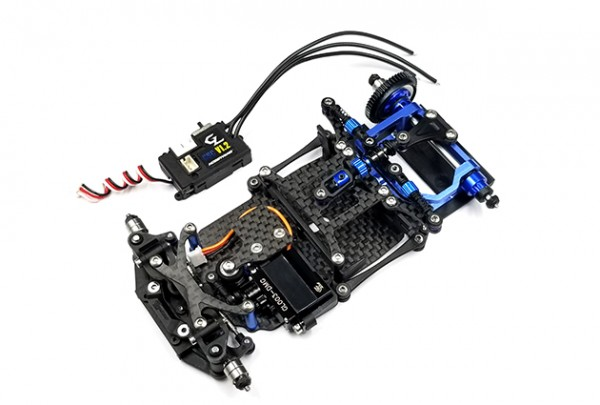GL-Racing | GLR-001-KSET | Chassis | GLR 1/27 RWD Chassis - W/O RX