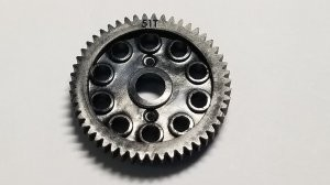 64P Longlife Spur Gear 51T