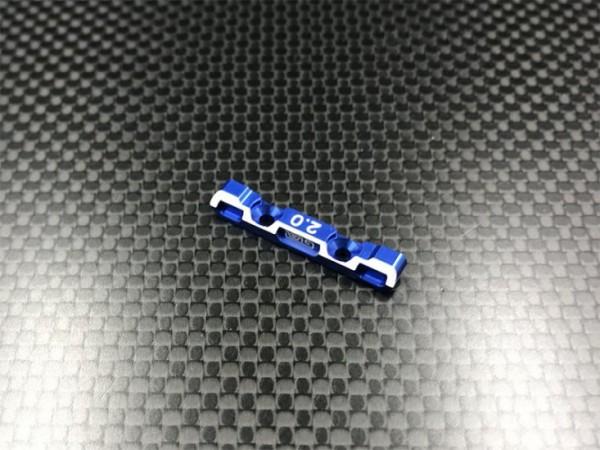 GL-Racing | GLA-002-20 | GLA 7075 Alum. Toe in block 2.0* | Ersatzteile