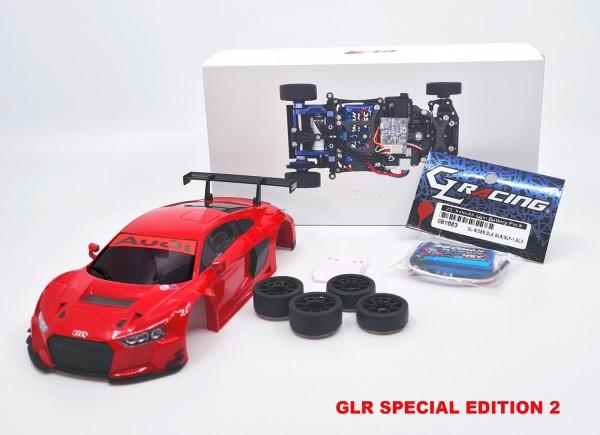 GL-Racing | GLR-001-KSET-Audi R8 | Chassis | GLR 1/27 RWD Audi R8 - W/O RX - SPECIAL 2