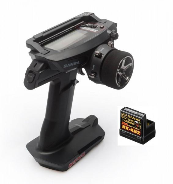 GL-Racing | SAN101A32171A | Fernsteuerung SANWA MT-44 + RX| Ersatzteile