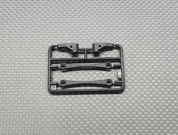 GL-Racing   GL-GT-S-005   GLR-GT Steering Knuckle & Side Linkage (2pcs)   GLR-GT Eratzteile