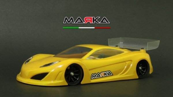 Marka Racing Mini-Z RK-12 Racing Lexan Body Kit (98MM W/B) - Light Weight